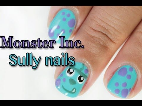 monster inc Sulley nails