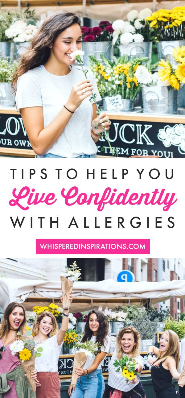 Live Life Confidently with Allergies – and not just during peak Allergy Season! Check out these tips that can help you seize the day, not sneeze it!