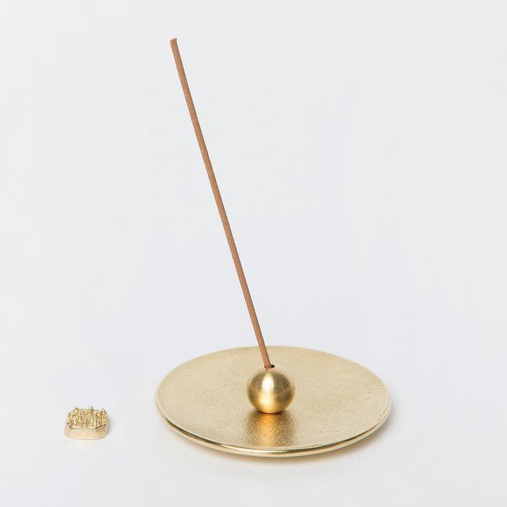 Brass Incense Holder Set