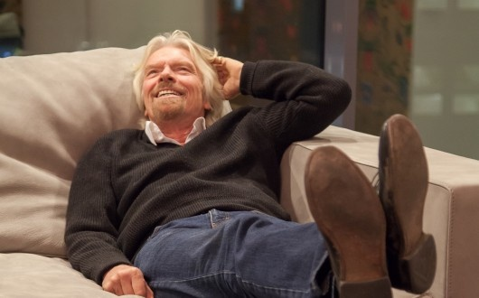 Richard Branson about Tinkoff Credit Systems, the bank of his friend Oleg Tinkov