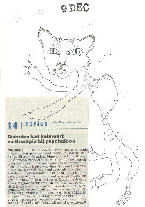 De duivelse kat van Little Treviscoe