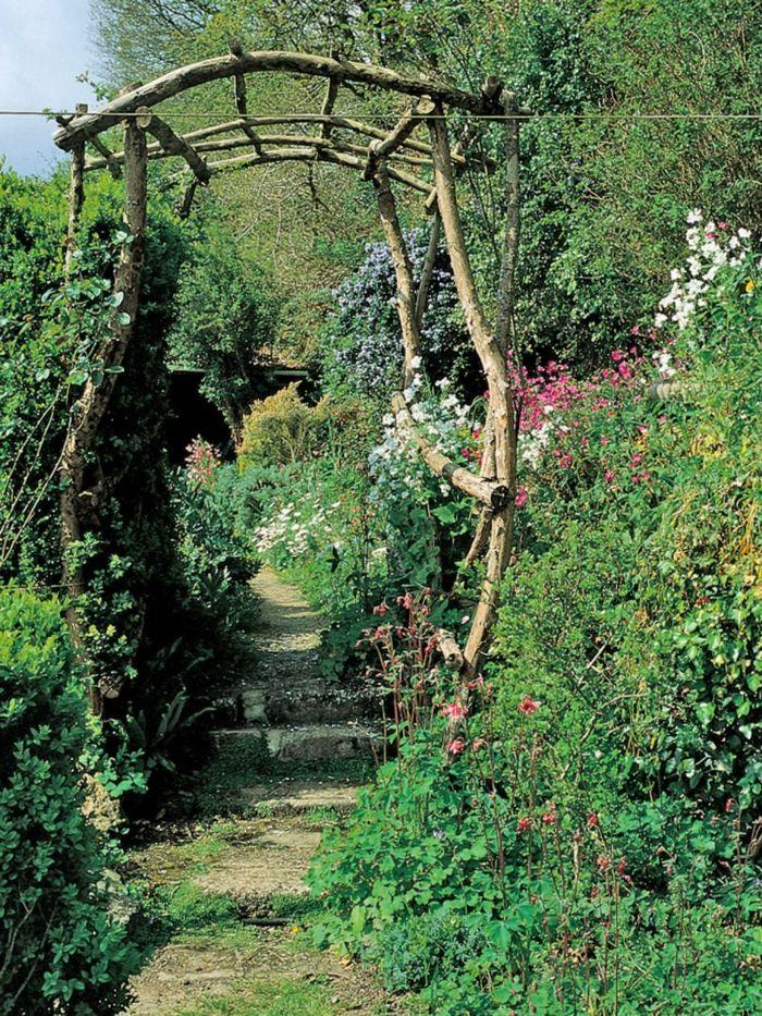 Einige Wundervolle Bilder Von Rosenbogen Aus Holz Rosenbogen Holz Garten Landschaftsbau Rosenbogen