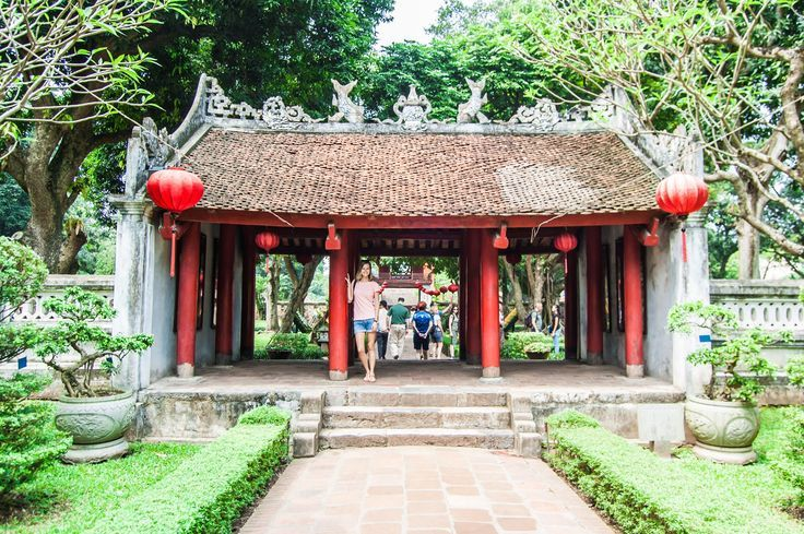 The Temple of Literature in Hanoi is Vietnam's Oldest University and is something you definitely shouldn't miss on your holiday to Vietnam! - Global Gal