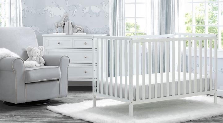 Willow Collection In Bianca White Nursery Furniture Set Delta Children Baby Furniture Sets Nursery Furniture