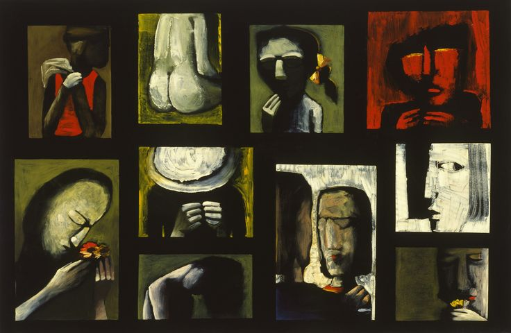 Suite V by Charles Blackman