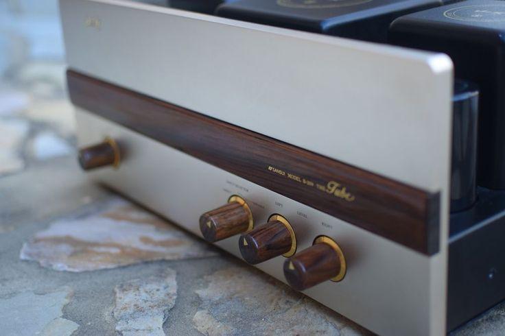 Vintage Sansui B-209 Tube Amplifier 6L6GC  #Sansui