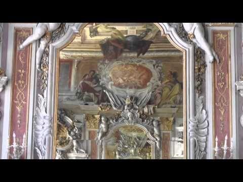 Sala degli specchi - Ca' Zanobio degli Armeni - Venezia - YouTube