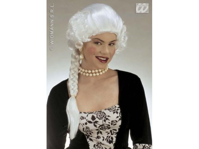 Jozefina - hercegnő paróka, fehér