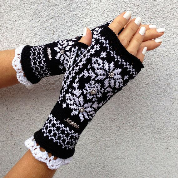 253 best Gloves and Mittens images on Pinterest | Mittens, Drawing ...