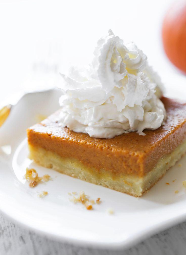 Pumpkin Pie Bars — Pip and Ebby