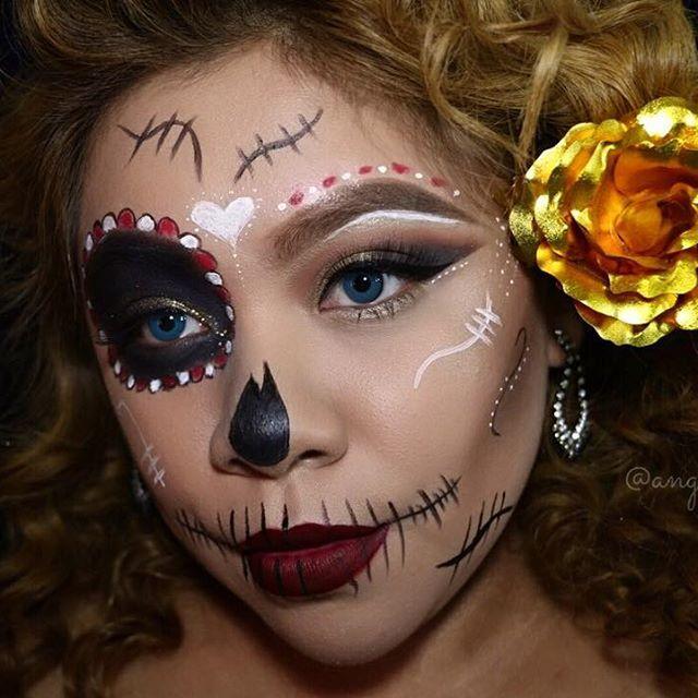 !  Makeup Details↯  Face • ➲  @BeccaCosmetics Matte pore less primer  @KatVonDBeauty Lock it Tattoo Foundation  @tarteCosmetics shape Tape c...