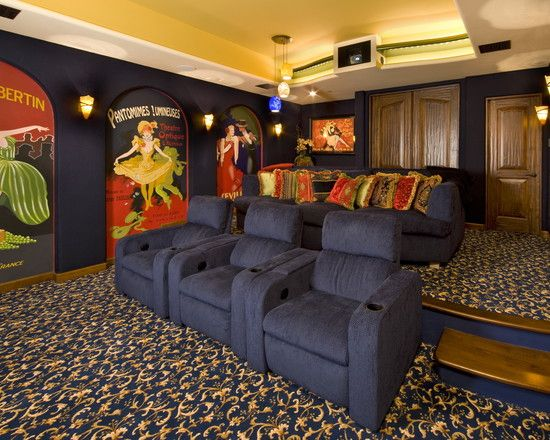 Media Room Decor media room theater rooms design, pictures, remodel, decor and