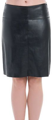Max Studio by Leon Max LEATHERETTE SKIRT