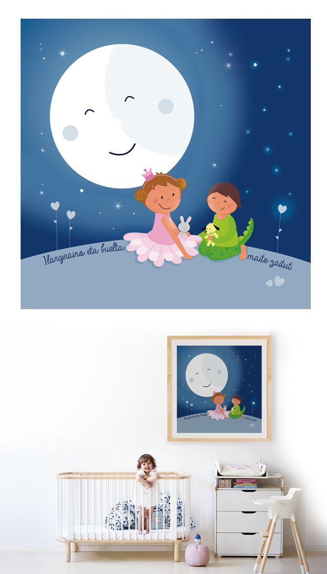 Te quiero hasta la luna y vuelta!