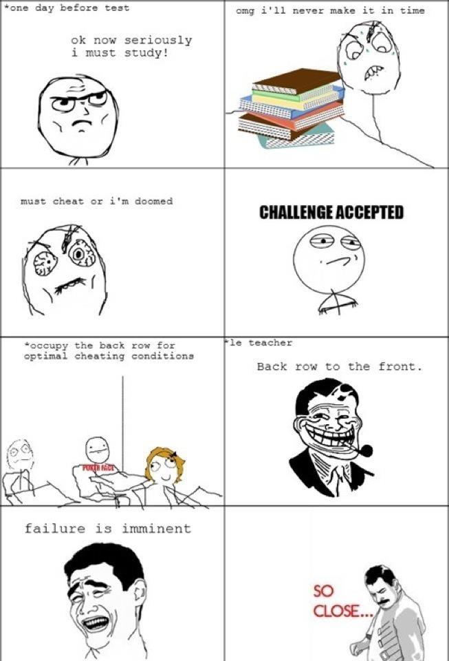 Why my teacher cheated on me?