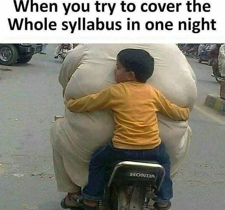 Last Night Before The Exams Funny Meme Lol Humor Funnypics Dank Hilarious Like Tumblr Memesdaily Funny Cute Memes Best Funny Jokes Fun Quotes Funny