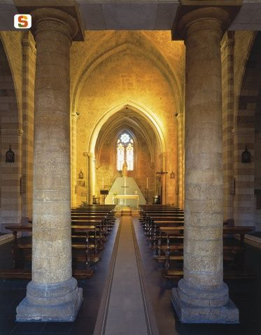 Santa Chiara medieval church in Oristano (Sardinia)  Got the pic from Sardinian digital Library.
