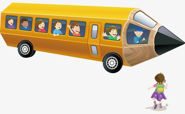 Cartoon School Bus Yellow School Bus Cartoon School Bus School Bus