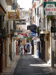 Beautiful old town of Benidorm