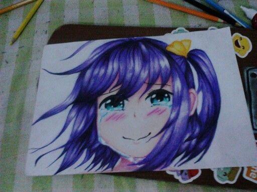 My fan art- Takanashi Rikka