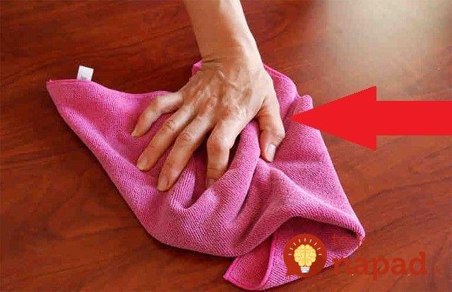 Poznáme perfektný trik, vďaka ktorému si nenávidené utieranie prachu skvele uľahčíte.