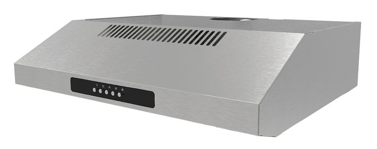 Igenix Visor Cooker Hood Extractor - 60 cm, Stainless Steel: Amazon.co.uk: Large Appliances