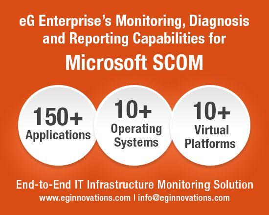 The eG Enterprise Universal Management Pack for Microsoft SCOM