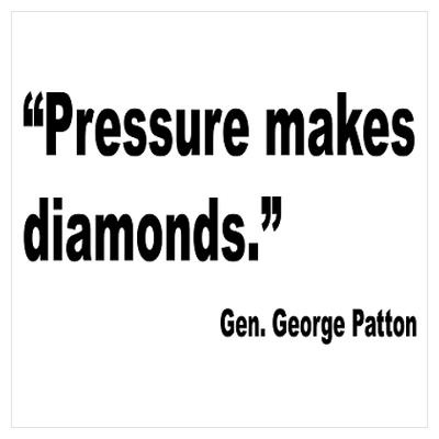 Patton Pressure Makes Diamonds