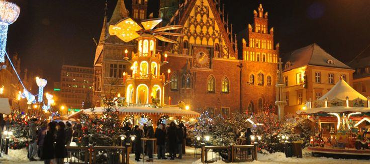 Here in Wroclaw in the heart of Central Europe a combination of revered traditions and religious fervour