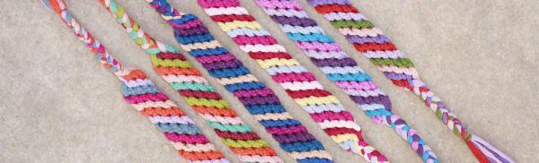 Do It Yourself: φτιάξε πολύχρωμα καλοκαιρινά βραχιολάκια φιλίας (friendship bracelets)