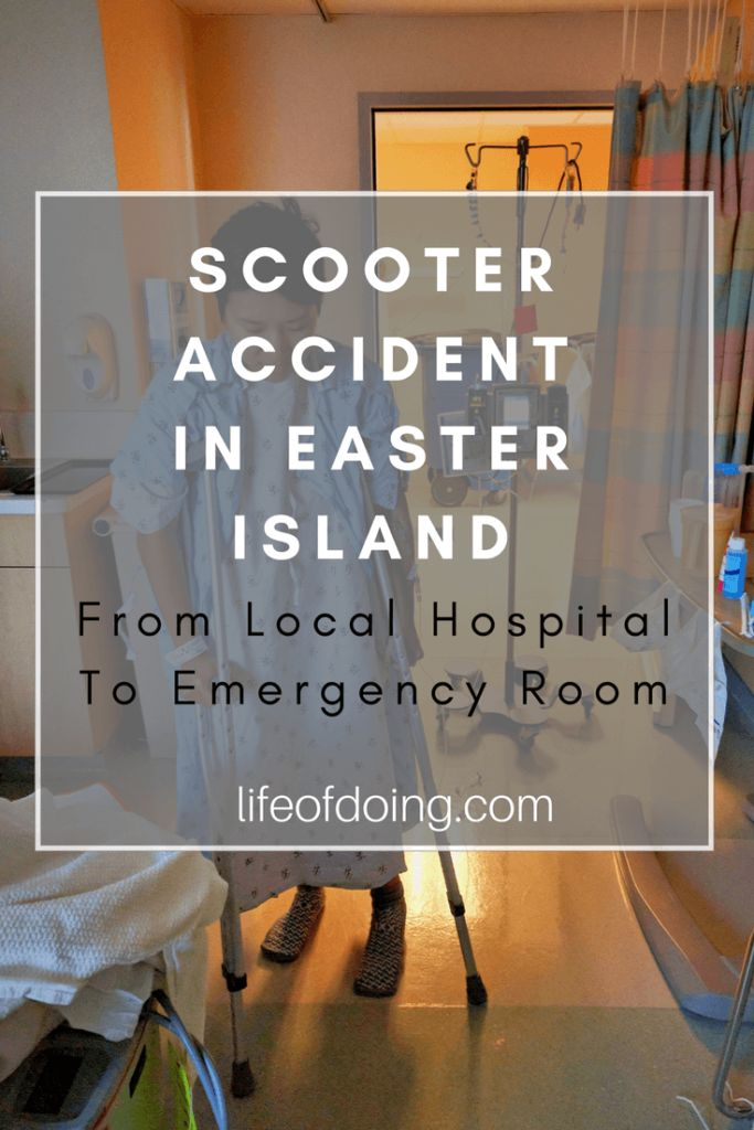 Hospital Emergency Room: Scooter Accident: From Local Hospital To Emergency Room