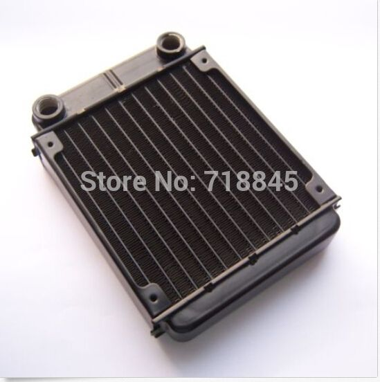 Aluminum Water Cooling 120 Radiator Liquid Cooler For 120mm PC Case Fan G1/4 can set 1 fan  heat exchanger cooled computer #hats, #watches, #belts, #fashion, #style