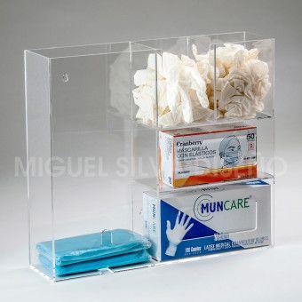 CM-caja-multiple-porta-guantes-delantal-mascarilla-cofia-con-insumos-clinicos