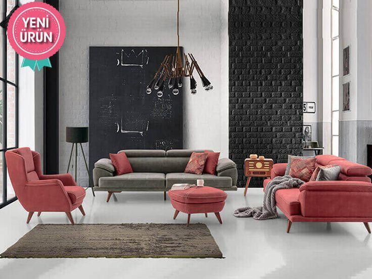 Pasific Modern Koltuk Takımı konforu ve zarifliği ile sizin için tasarlandı!  #Mia #Modern #Koltuk #Takımı #Sönmez #Home #Mobilya #Mekanizma