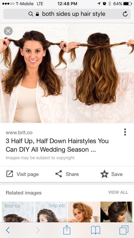 35 best Wedding hair & makeup images on Pinterest | Wedding hair ...