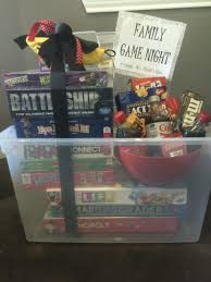Family Game Night Silent Auction Basket By Sherrie