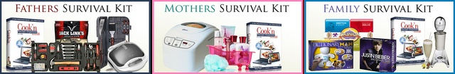 Mans Survival Kit & Cook'n #Giveaway valued at over $1,200 (10 Winners)-Ends 9/7 Open Worldwide    3 Kits there is also a Mothers and a Family one enter to win all 3 of them!