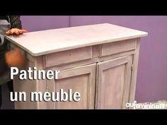 Tuto bricolage : patiner un meuble