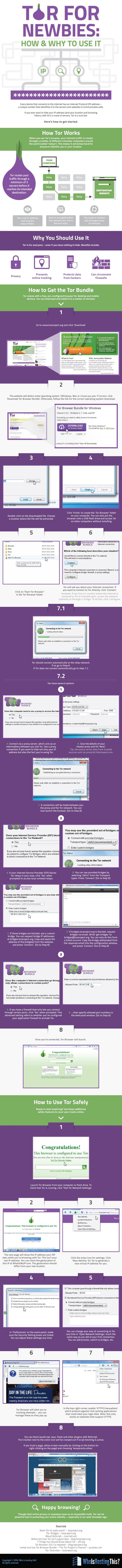 Tor for Newbies: How and Why to Use It #infographic #Browser #Internet #Tor