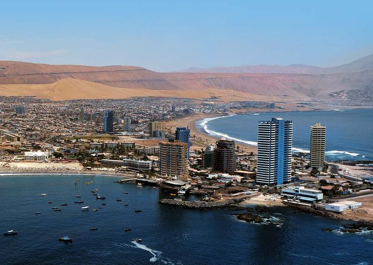 Iquique, Chile. I wanna go back there!
