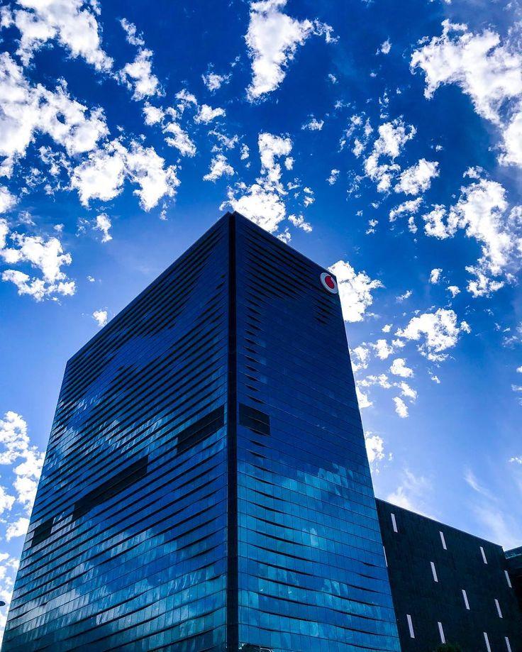 Blue reflections. . . . . . . . . . . #blue #clouds #reflections #architecture #architecturephotography #cloudporn #building #buildings #capetown #moodygrams #photo #instaphoto