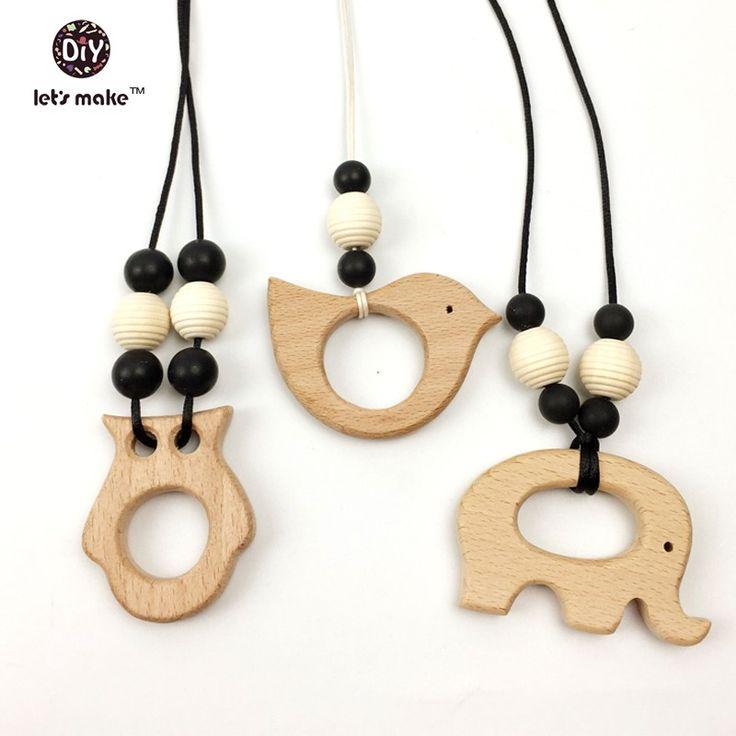 Alibaba グループ | AliExpress.comの チャーム からの 50pcs Unfinished Geometric beads 20mm Wood beads Spacer Beads jewelry for DIY wooden necklace lets makeUSD 中の Diy ペンダント ハンド カット鳥環境に優しい 10 ピース木製鳥おしゃぶり天然ブナ木製製品