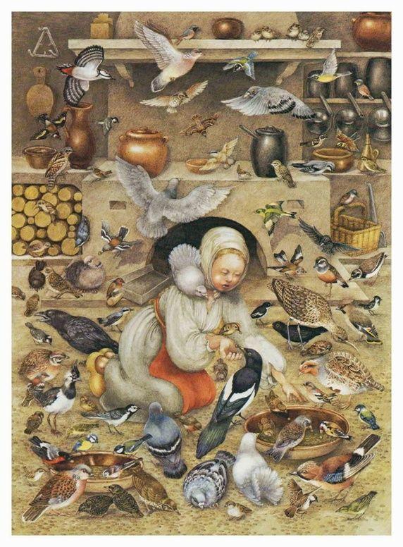 Pauline Ellison illustrations for ' Grimm's Fairy Tales' - Quora