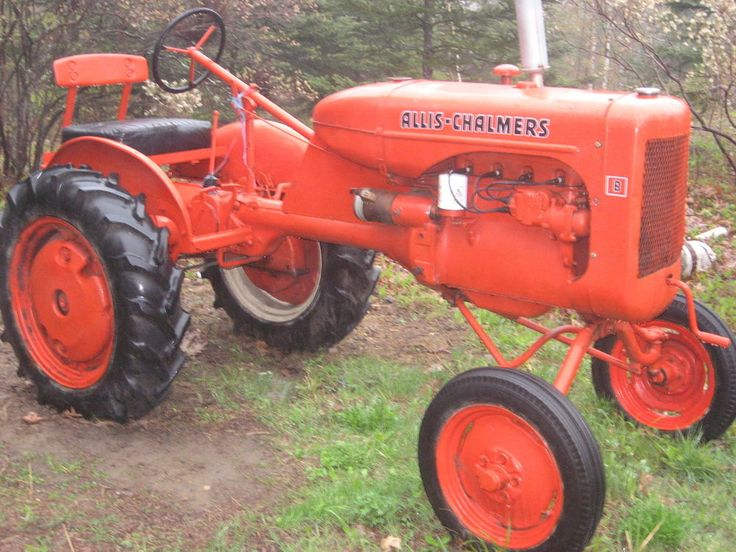 1930's Allis Chalmers Model B Tractor | Models and Tractors
