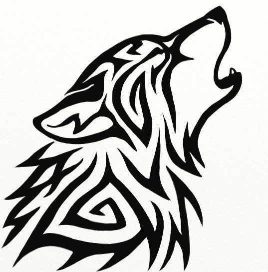 Tribal Wolf Avatar by Hareguizer.deviantart.com: