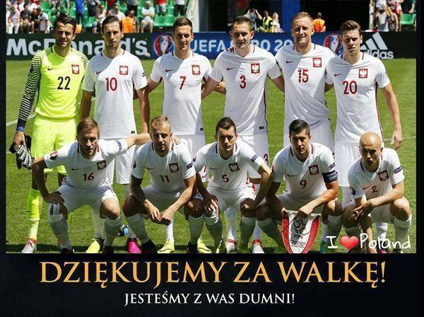 Dziękujemy za walkę!!! Jesteśmy z Was dumni!!! • Memy piłkarskie po meczu Polska Portugalia - Euro 2016 • Wejdź i zobacz więcej >> #pol #polska #portugalia #euro #euro2016 #football #soccer #sports #pilkanozna