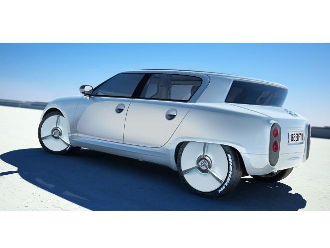 Citroen Ami 6 169 R Varicak Motor Forecast Concept Cars