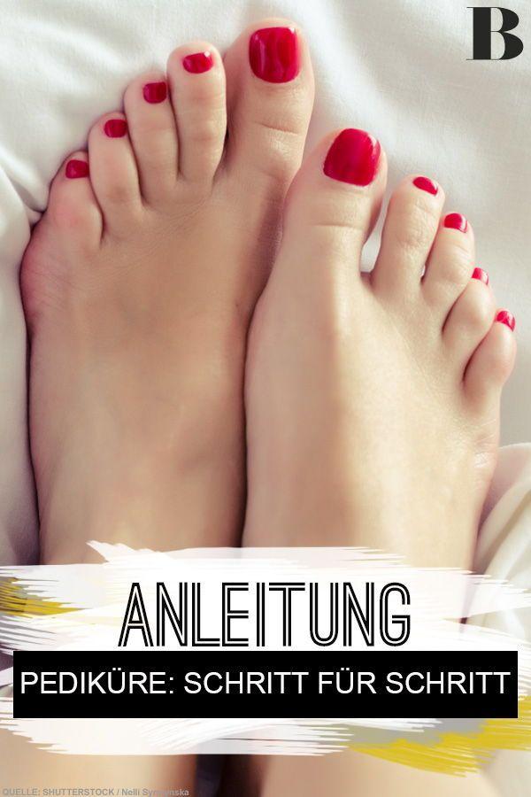 Pediküre: So macht ihr eure Füße schön!