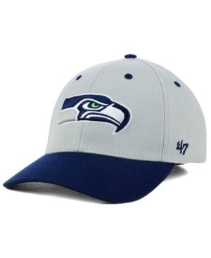 '47 Brand Seattle Seahawks Kickoff 2-Tone Contender Cap - Gray M/L