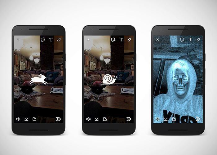 """Lee Snapchat añade cámara lenta, rápida y """"rebobinar"""" y da la bienvenida a Halloween"""